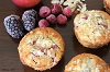 fruit n nut muffins close with text
